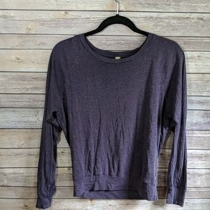☀️TNA Purple Long Sleeve Lightweight Top XS